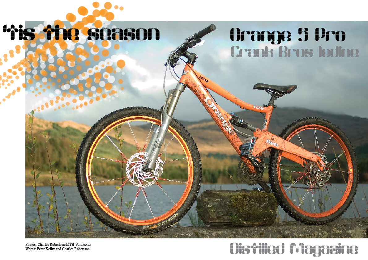 orange five pro crank bros iodine. Black Bedroom Furniture Sets. Home Design Ideas